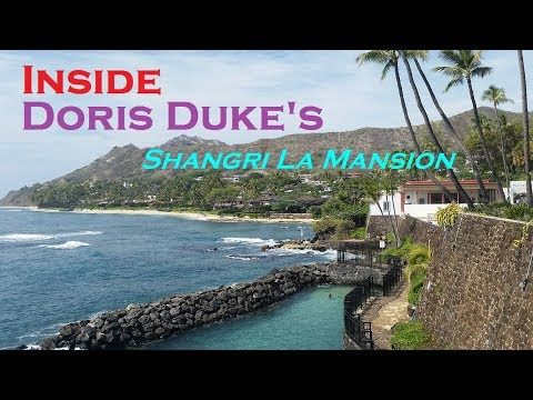 Inside Doris Duke's Shangri La Mansion - Islamic Art, Oahu, Hawaii