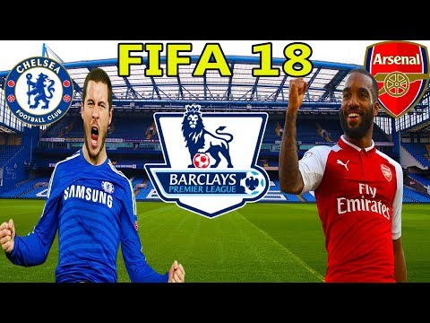 Fierbe Londra - Super Meci Pe Stamford Bridge - Chelsea vs Arsenal - FIFA 18 Cariera Cu Arsenal