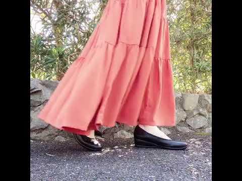 スリッポン ウェッジ パンプス ぺたんこ 本革 日本製 カジュアル タウンシューズ ウォーキングシューズ 外反母趾 本革 ペタンコ 軽量底 黒 疲れない靴 痛くない靴 歩きやすい