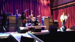 Candlebox - Alive At Last - Sound Check - Mercury Ballroom - Louisville, Kentucky 04/01/16