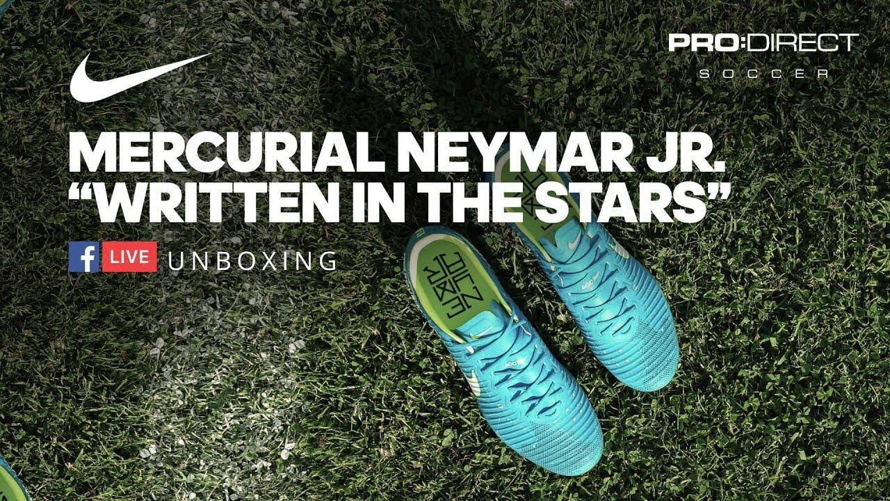 "edbd59a32 Unboxing  Nike Neymar Jr. ""Written In The Stars"" Mercurial Vapor. Pro Direct  Soccer"