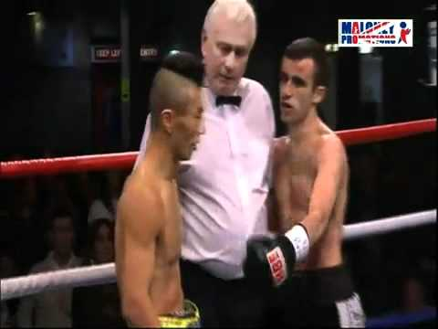 Paul Edwards Jamie Conlans next foe in action.mp4
