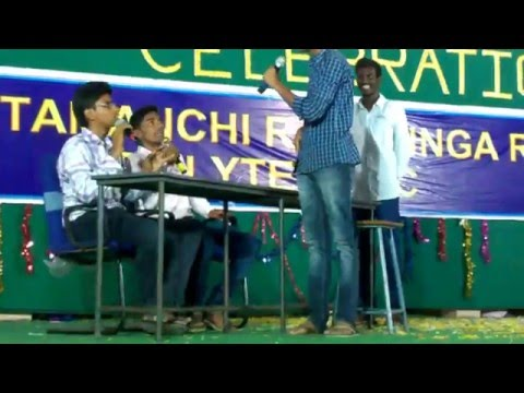 """Funny interview skit "" telugu 