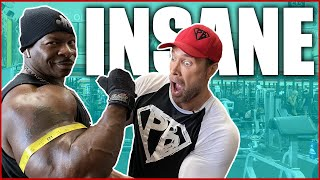 INSANE Tricep Mass Workout With Chef Rush | Mike O'Hearn