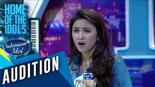 Download Mp3 Mahalini sudah membuktikan kualitas menyanyinya di depan juri AUDITION 4 Indonesian Idol 2020