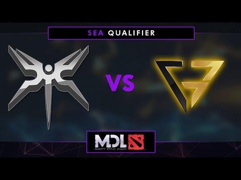Mineski vs CG Game 1 - MDL 2017 SEA Qualifier: Grand Finals - @LysanderXonora