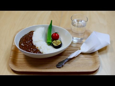 How to make Dam Vegetable Curry 夏野菜のダムカレー