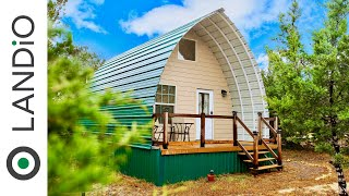 Tiny House • arched Cabins • tiny Home Tour  2020