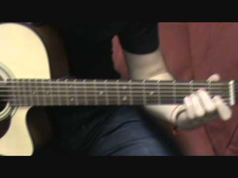 How to play Quên - Cách chơi guitar bài Quên - Lee Kirby.wmv
