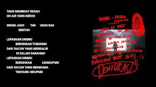 Download Mp3 Hindia Ft. Petra Sihombing - Dehidrasi  Lyric & Commentary
