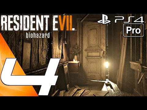 Resident Evil 7 - Gameplay Walkthrough Part 4 - Flamethrower & Insect Nests (PS4 PRO)