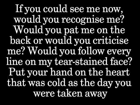 If You Could See Me Now by The Script (Lyrics)