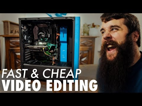 How To Build A Video Editing Computer | $850 Ryzen PC Beginn