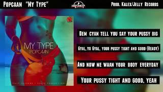 "Popcaan ""My Type"" (Official Lyrics Video)"