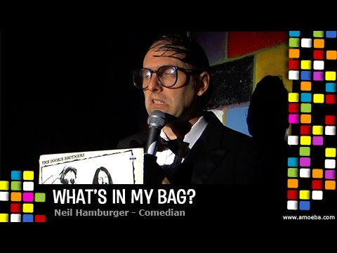 Neil Hamburger - What's In My Bag?