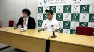 philippines vs japan davis cup interview of TREAT HUEY PART 1