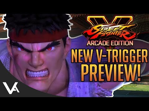 SFV - New V-Trigger Preview! Future Stage? & More Screenshots For Street Fighter 5 Arcade Edition