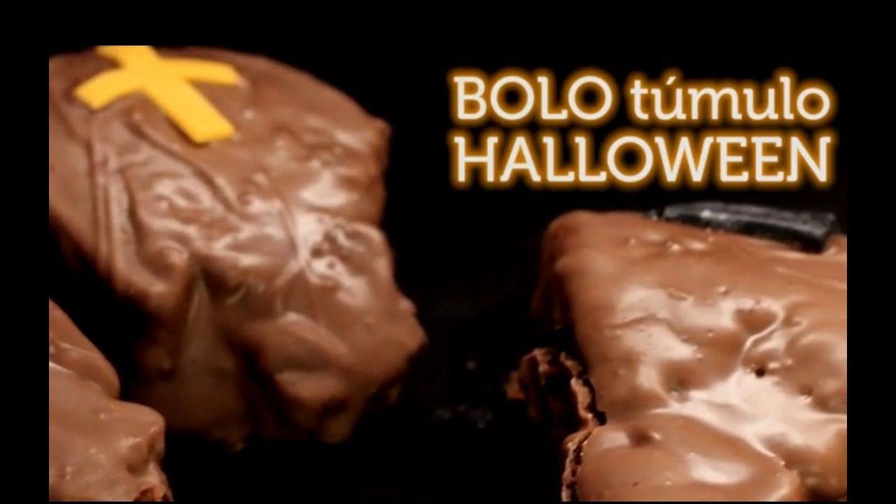 Bolo Túmulo - Halloween