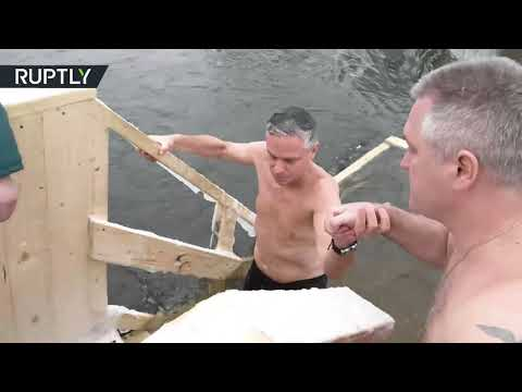 RT: 'I want to feel close to Russians': US ambassador takes dip in icy water to mark Epiphany