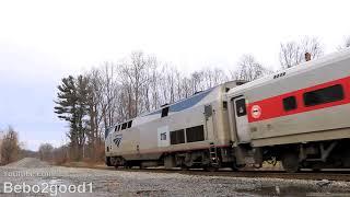 Amtrak P42DC on the Harlem Line Shuttle (Metro-North Train)