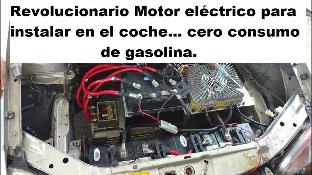 Revolucionario sistema para convertir veh culos a 100 - Motor electrico para persianas ...