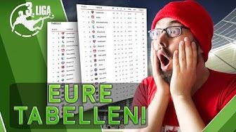 REAKTION AUF EURE TABELLEN 😱 3. LIGA PROGNOSE GAME