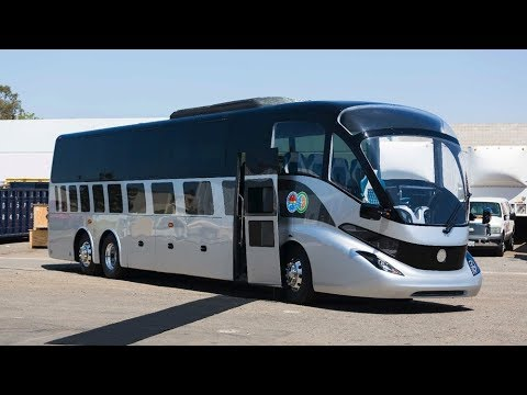 The Gaffoglio Electric Bus Drive 250 Miles On One Charge