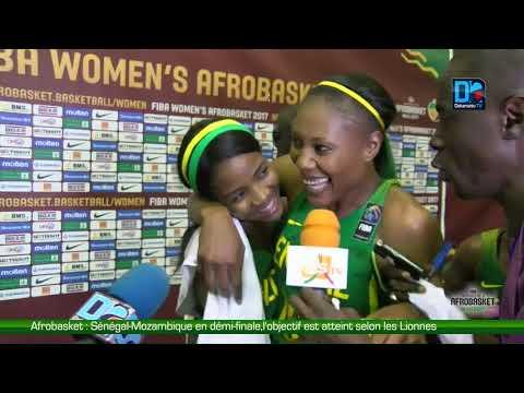 Afrobasket   Sénégal Mozambique en démi finale,l'objectif est atteint selon les Lionnes