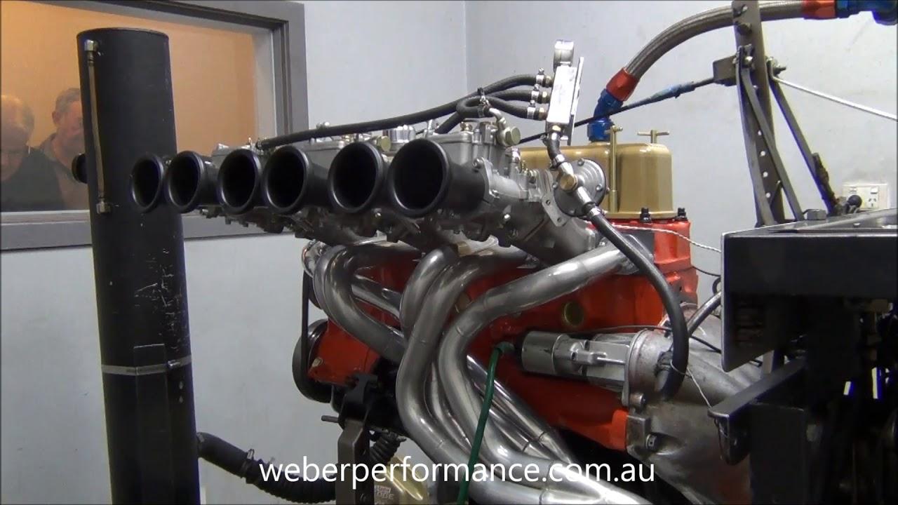 Triple R Motors >> Holden 202 Race Engine Dyno Triple Webers - YouTube