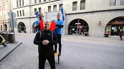 NASDAQ OMX Helsinki ALS Ice Bucket Challenge