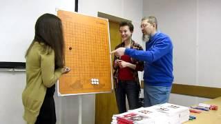 👨🏫  Обучение игре Го. Начинающие. Чемпионка мира Вера Небольсина