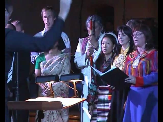 "Vox Pacis 2010 - ""A Challenge to Humanity"" (part 1). Vox Pacis Ensemble & Sofia Vocal Ensemble"