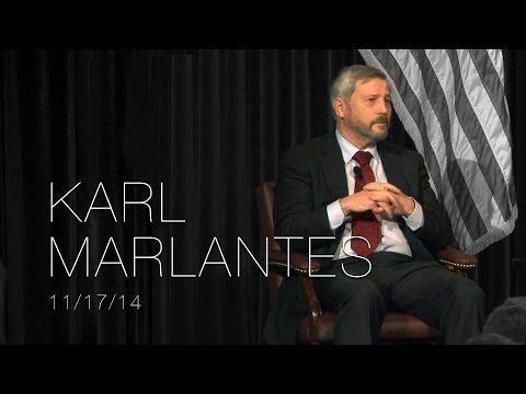 A Conversation with Karl Marlantes