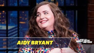 Aidy Bryant Tells the Disastrous Story of Her Husband Meeting Her Mom