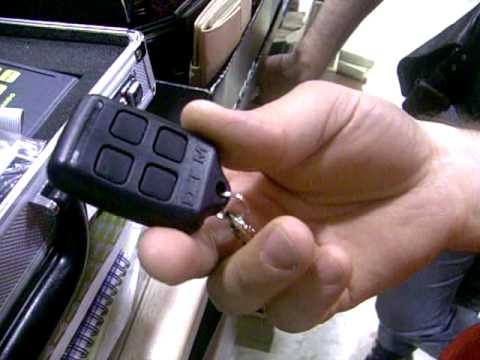 Mando copion - como duplicar un mando de garaje