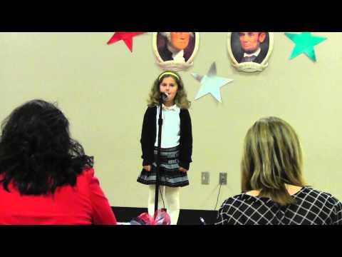 Ellie - American Heritage Poetry Contest - Feb 4, 2014