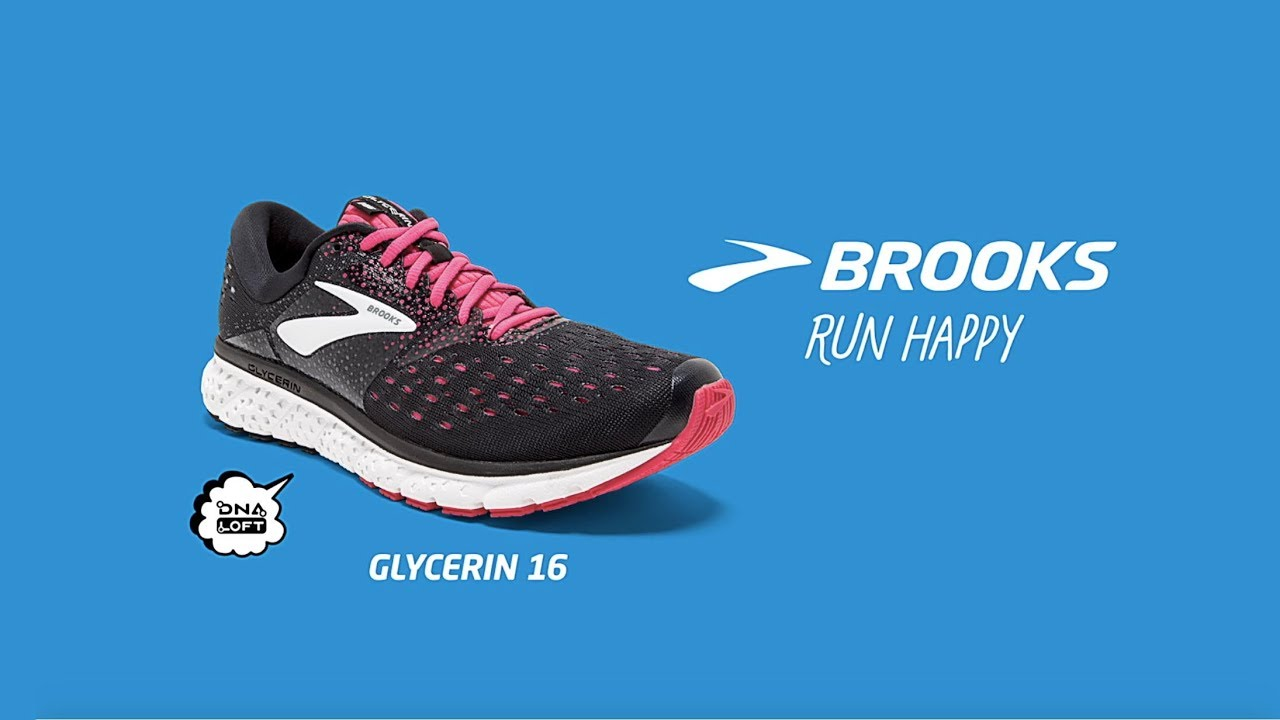 Glycerin Youtube From Running Brooks 16 The New nwkO08XP