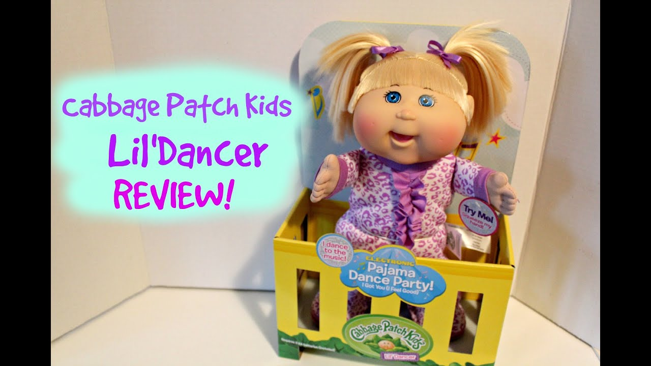 Cabbage Patch Kids Lil Dancer Review Opening