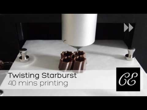 Choc Creator 2.0+ - 3D Chocolate Twisting Starburst