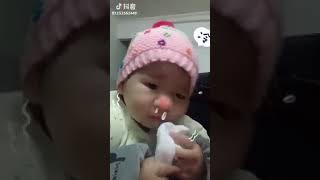 Funny video poor baby