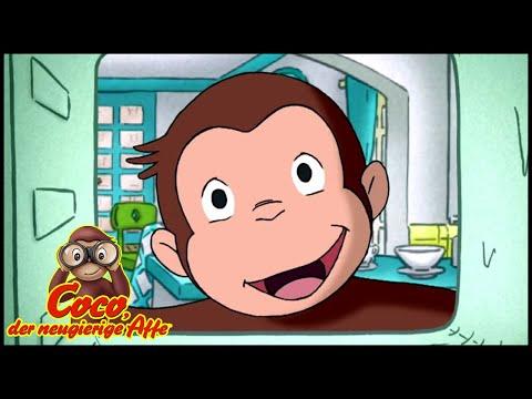Coco der Neugierige Affe Deutsch🐵Überraschung zum Geburtstag🐵Ganze Folgen🐵Cartoons für Kinder