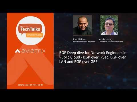 TechTalk | BGP Deep dive for Network Engineers in Public Cloud