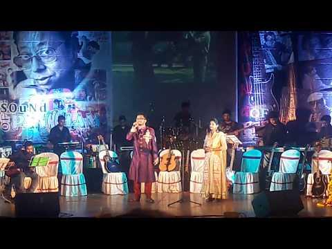 Mon Theke Mone | মন থেকে মনে | Live | Arunava, Sayani @Sound of Pancham