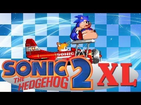 Sonic 2 XL - Walkthrough with all Chaos Emeralds
