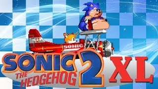 Sonic 2 XL - Walkthrough with all Chaos Emeralds