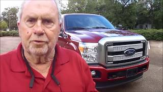 2016 Ford F 350 SRW Platinum 4x4 Test Drive