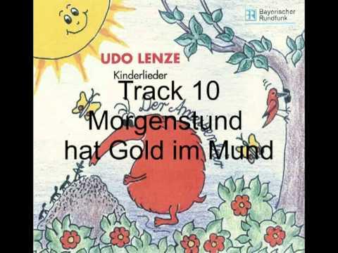 udo lenze kinderlieder track 10 morgenstund hat gold im. Black Bedroom Furniture Sets. Home Design Ideas