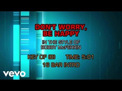 Bobby McFerrin - Don't Worry Be Happy (Karaoke)