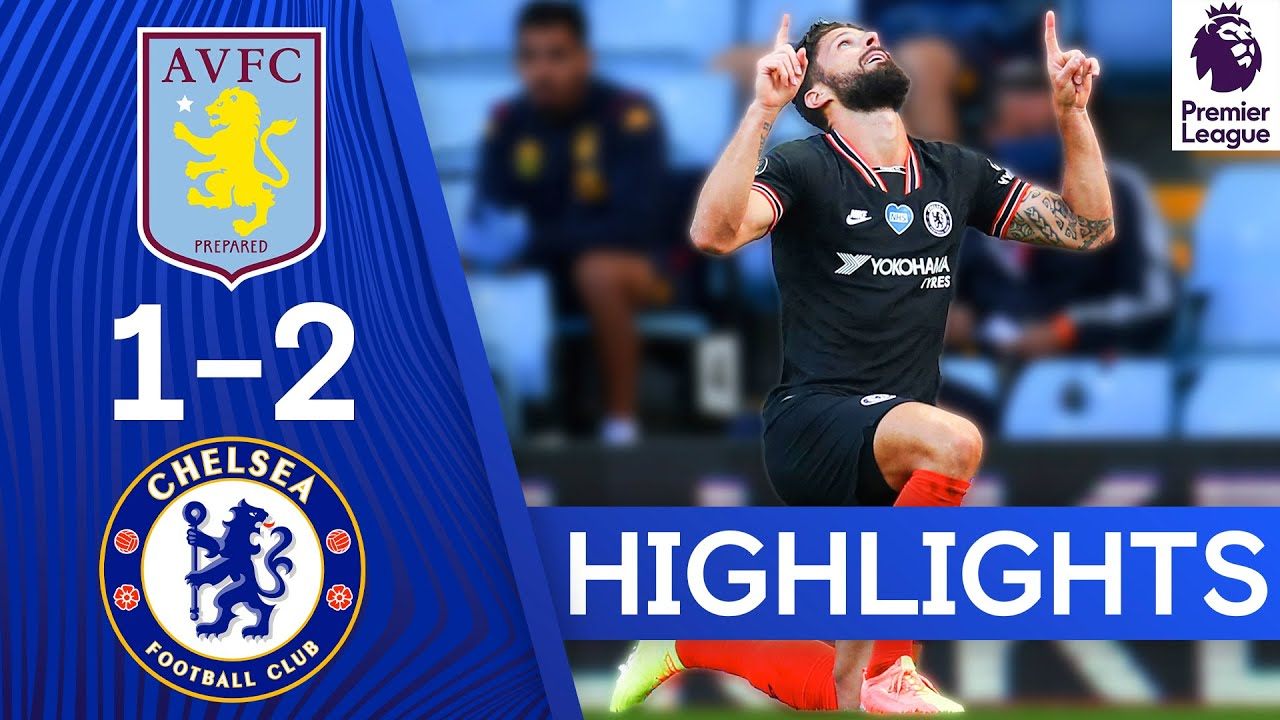 Aston Villa 1-2 Chelsea | Two Goals in Two Minutes for the Blues! | Premier League Highlights