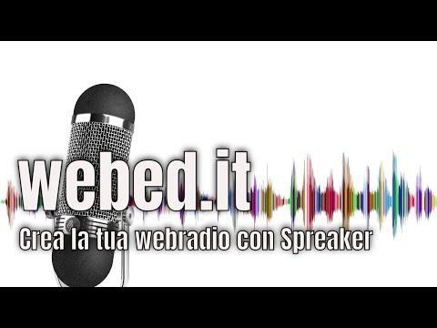 Creare una web radio con Spreaker